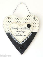 Family and Friends Welcome Plaque