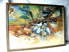Aquarell  Uferseeschwalben - signiert u. datiert: Hiddensoe 26