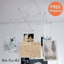 Geometric Photo Mobile 20 Photos Home Gift Hanging Frame Clip Bedroom Her Him