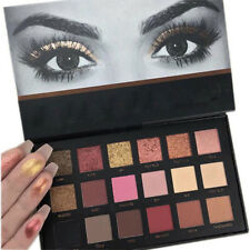 Rose Gold Textured Eyeshadow 18 Colors Matte Eyeshadow Palette Cosmetics Makeup