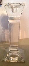 Kerzenständer Kerzenleuchter Kristall edel schwer  Halter 25cm Ständer NEU 50385