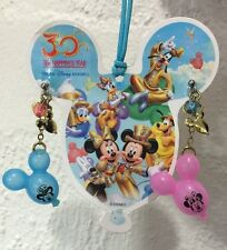 Genuine Disney Girls Women's Earrings Ear Stud Mickey& Minnie Mouse Balloon BNWT