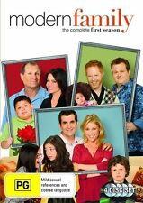 MODERN FAMILY - SEASON 1, THE COMPLETE (4 DVD SET) BRAND NEW!!! SEALED!!!
