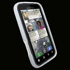 S Clear TPU Case Cover Gel for Motorola Defy MB525 + SP