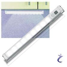 Lunartec LED Lichtleiste mit Bewegungsmelder -  kaltweiß batteriebetrieben