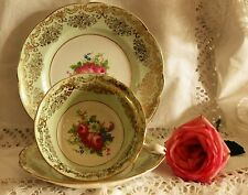 Vintage E Brain and Co Foley China Trio ~Cabinet Cup, Saucer & Side Plate