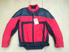 """Mens J&S Textile Motorbike / Motorcycle Jacket Size UK 36"""" chest (C113)"""