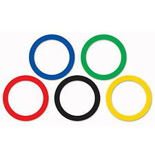 Party Supplies Birthday Olympics Games Sports Rings Cutouts