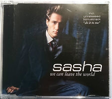 "SASHA ""We Can Leave The World""  4-Track-Maxi-CD 1999"
