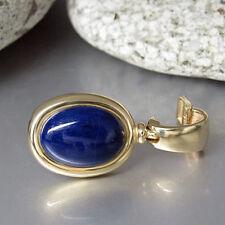 Clipanhänger Anhänger mit einem Lapis Lazuli Stein in 585/14K Gelbgold