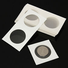 50pcs 40mm Lighthouse Stamp Coin Holders Cover Case Storage