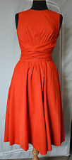 Hobbs Twitchill Dress, Size16, red NEW