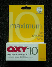 *10g* OXY 10 - 10% Benzoyl Peroxide Acne Pimple Medication - Maximum Strength