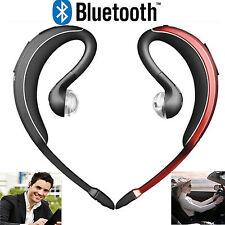 Wireless Stereo Bluetooth Headset Headphone Earpiece For Samsung Galaxy iphone 6
