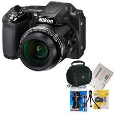 NIKON COOLPIX B500 BLACK COMPLETE SET DIGITAL CAMERA SUCCESSOR TO THE L840