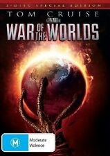 THE WAR OF THE WORLDS - (TOM CRUISE) - SPECIAL 2 DVD SET - BRAND NEW!! SEALED!!