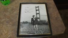 "Framed Original EarlyTony Bennett Autographed 8x10"" Photograph Hand Signed Jazz"