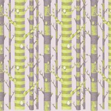 TULA PINK FOREST STRIPE Fabric Fat Quarter Cotton Craft Quilting - Trees