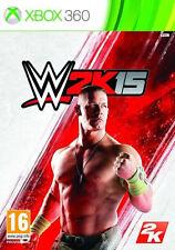 WWE 2K15 --  (Microsoft Xbox 360, 2014)