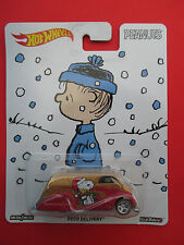 "HOTWHEELS POP CULTURE 2016 PEANUTS ""DECO DELIVERY"" 1:64 SCALE NEW!"