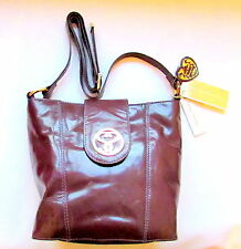 NEW DESIGNER SUZY SMITH MESSENGER BAG  ZB003061GL - AUBERGINE- BNWT RRP £120