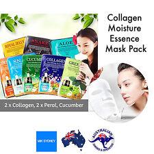 Face Mask Sheet Skincare Moisture Facial Essence Mask Sheet Beauty Collagen Skin