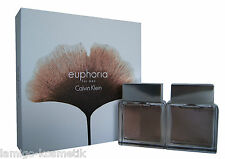 Calvin Klein euphoria men Eau de Toilette edt 100ml. & AFTER SHAVE LOTION 100ml.