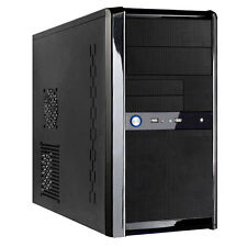 X-BLACK Templar Desktop PC Computer Mini Tower Gaming Case & Inc 500 Watt PSU