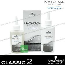 Schwarzkopf Hydrowave Natural Style Curls Classic 2 Perm Kit - Coloured Hair