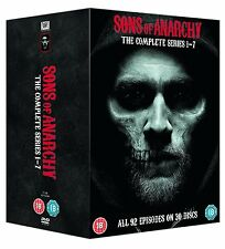 Sons Of Anarchy Complete Series Season Collection 1-7 1 2 3 4 5 6 7 DVD Reg 4