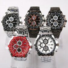 5pcs Bulk Mixed Lot Luxury Gents Men's Watch Sport Dress Wristwatch SN73M5