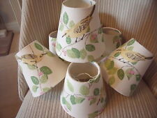 Handmade Candle Lampshade Laura Ashley Aviary Garden Apple fabric
