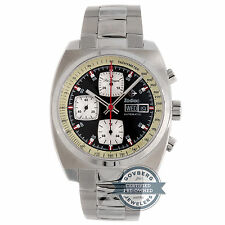 Zodiac Sea Dragon Chronograph ZO9917 Auto Steel Mens Bracelet Watch Day Date