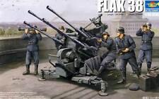 Trumpeter FLAK 38 German 2.0cm anti-aircraft gun 1:35 Gebirgsflak Modell-Bausatz