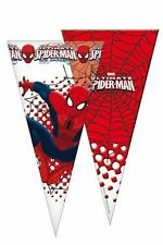 6 x Spiderman Boys Childrens Kids Cello Sweet Cones Birthday Party Bags Favours