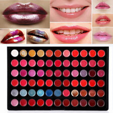 66 Color Pro Beauty Lip Gloss Palette Moisture Lasting Lipstick  Cosmetic Makeup