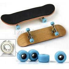 4 Pcs Professional Urethane Bearing Wheels for Wooden Deck Fingerboard Gifts