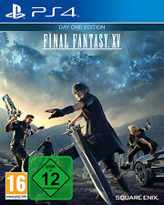 Final Fantasy XV 15 Day One Edition FF 15 PS4 Spiel  *NEU OVP* Playstation 4