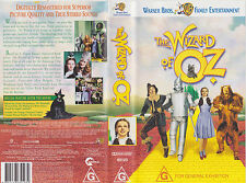 THE WIZARD OF OZ VHS VIDEO TAPE (New and Sealed)   family classic film