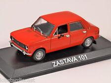 ZASTAVA 101 in Red 1/43 scale model by Altaya