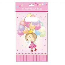 Pack of 10 x Pink Party/Loot/Favour Bags - NEW - Balloons design