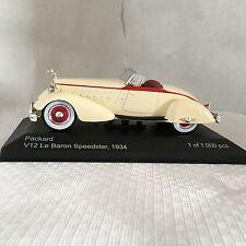 Packard V12 Le Baron Speedster 1:43 Whitebox neu & OVP WB178