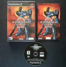 ARMORED CORE 2 PlayStation 2 UK PAL English・SHOOTER FROM SOFTWARE Complete PS2