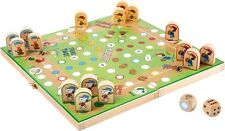 Peanuts Ludo für Kinder Holz Snoopy Würfelspiel Ludospiel Kinderludo Spiel Neu