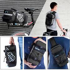 5l Outdoor Waterproof Bicycle Bike Cycling Cycle Frame Rack Pack Bag Panniers UK