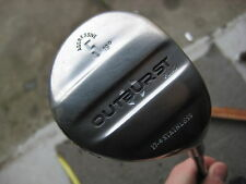 Outburst 5 wood. Aggresive 19 degree loft. Aldila VX shaft. Stainless head. 3175