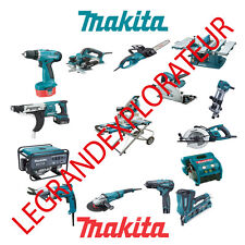 Ultimate Makita Owner Service Repair and Parts List Manuals (PDFs manual s DVD)