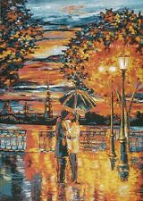 WALL JACQUARD WOVEN TAPESTRY A Date EUROPEAN CITY VIEW PICTURE - ROMANTIC DECOR