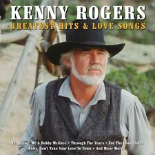Kenny Rogers Greatest Hits & Love Songs 2-CD NEW SEALED Remastered Country