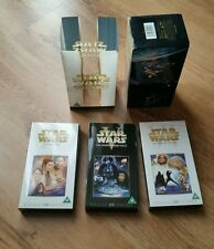 STAR WARS ORIGINAL TRILOGY Digitally Mastered Edition VHS Video Box Set 3 Tapes